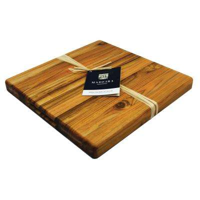 Architec Teak-Edge Grain M Chop Block