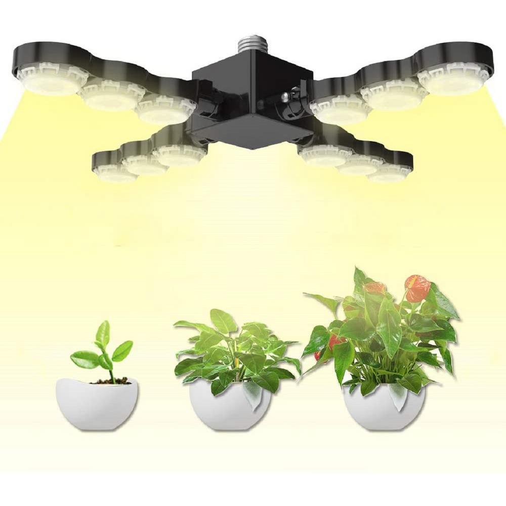 SANSI 60-Watt Medium E26 Base Full Spectrum LED Grow Light (1-Bulb)