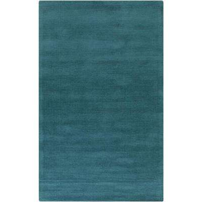 Falmouth Teal 9 ft. x 13 ft. Indoor Area Rug