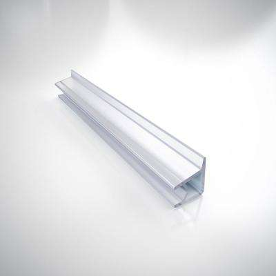69-5/8 in. L Clear Vinyl Seal with a Flexible Fin for 1/4 in. Glass Shower Door