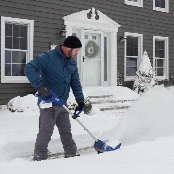 Reviews for Snow Joe 11 in. 24-Volt Cordless Snow Shovel Kit with 5.0 Ah  Battery + Charger - 24V-SS11-XR - The Home Depot