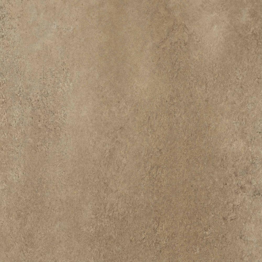 TrafficMASTER Ceramica Camel 12 in. x 12 in. Resilient Vinyl Tile Flooring (30 sq. ft. / case)