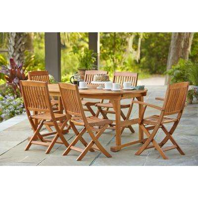 Adelaide Eucalyptus 7-Piece Patio Dining Set