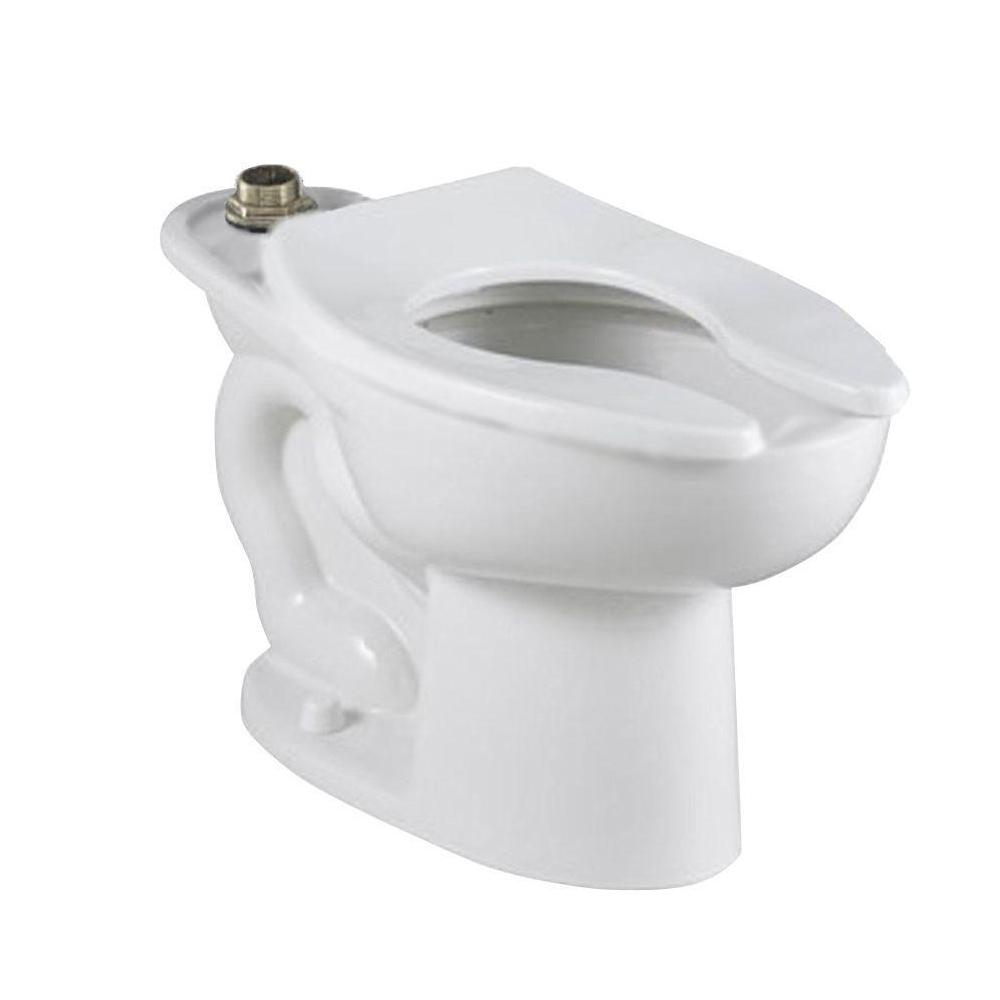 Madera FloWise Top Spud Slotted Rim Elongated Toilet Bowl Only in