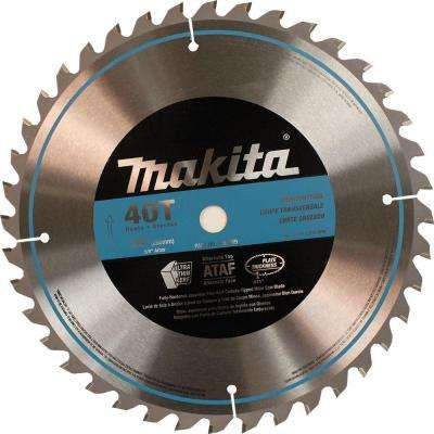 10 in. x 5/8 in. 40-Teeth Micro-Polished Miter Saw Blade