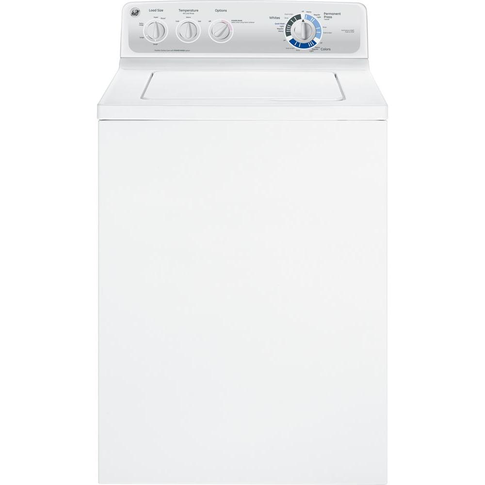 GE 3.7 cu. ft. Top Load Washer in White
