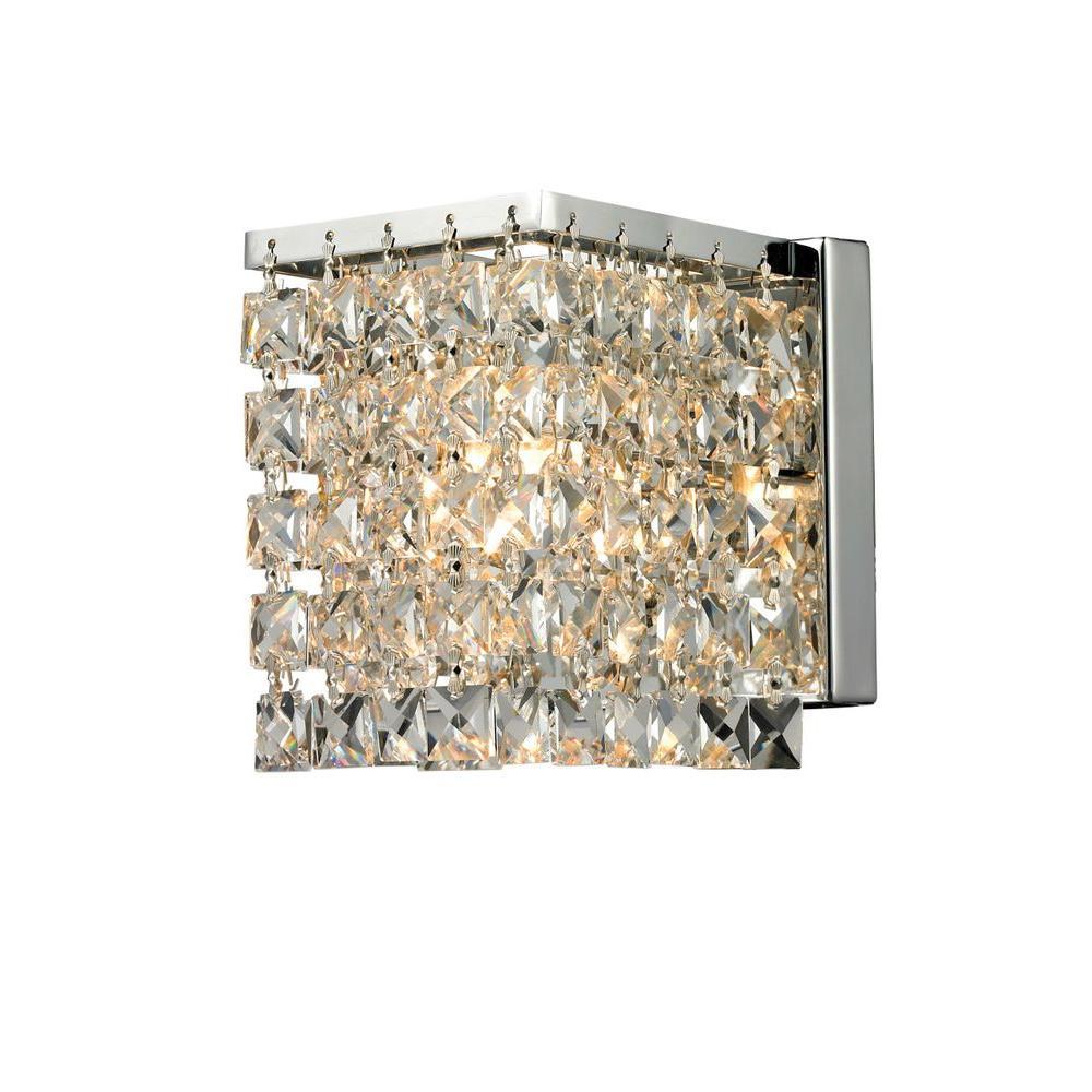 Filament Design Lawrence 1-Light Chrome Halogen Sconce