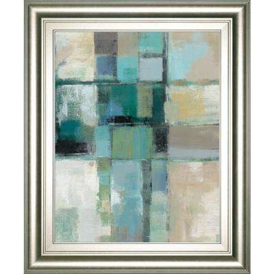 "22 in. x 26 in. ""Island Hues Crop 2"" by Sylvia Vassileva Framed Printed Wall Art"
