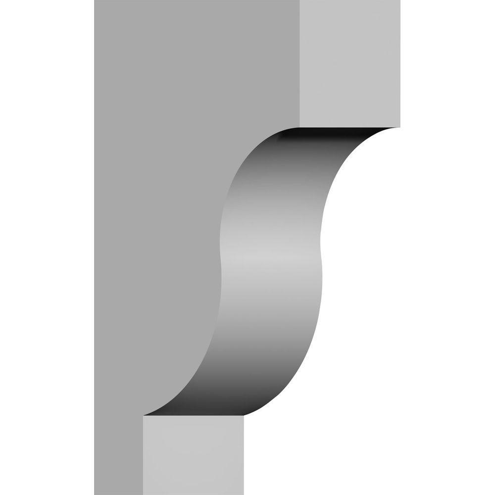 Ekena Millwork 2 7 8 In X 5 7 8 In X 10 In Primed