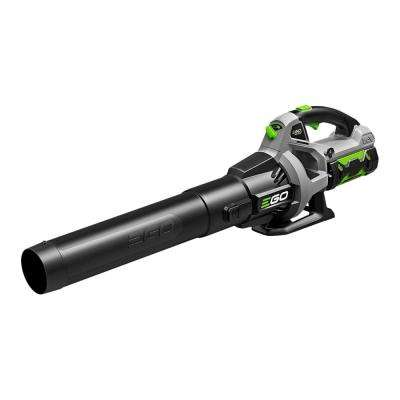 110 MPH 530 CFM Variable-Speed Turbo 56-Volt Lithium-ion Cordless Electric Blower w/ 2.5Ah Battery and Charger Included