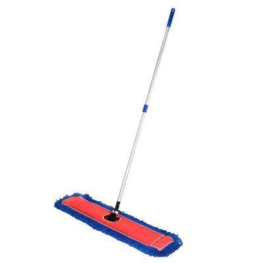 36 in. Microfiber Wet Dry Dust Mop Set with Telescopic Handle