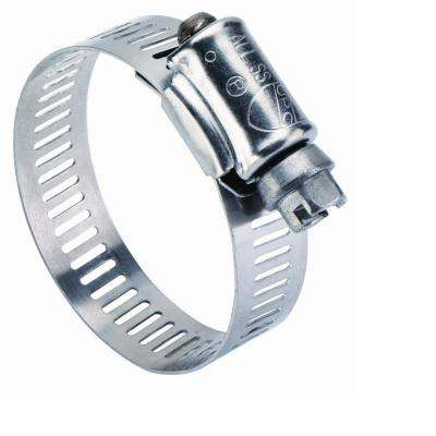 1/2 in. - 1 1/4 in. Stainless Steel Hose Clamp (10 Pack)