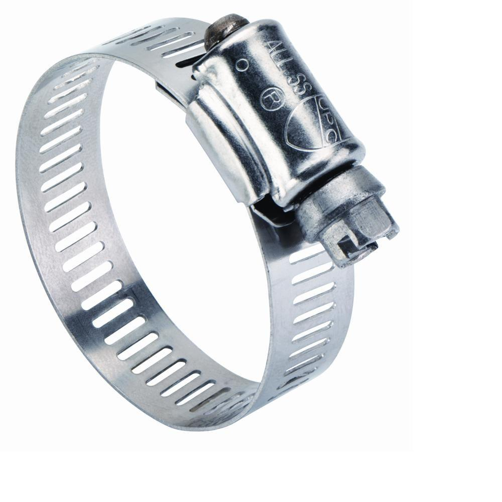 Everbilt 3 in. - 5 in. Stainless-Steel Hose Clamp