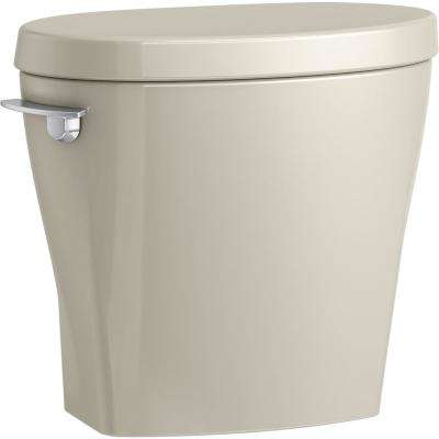 Betello 1.28 GPF Single Flush Toilet Tank Only in Sandbar