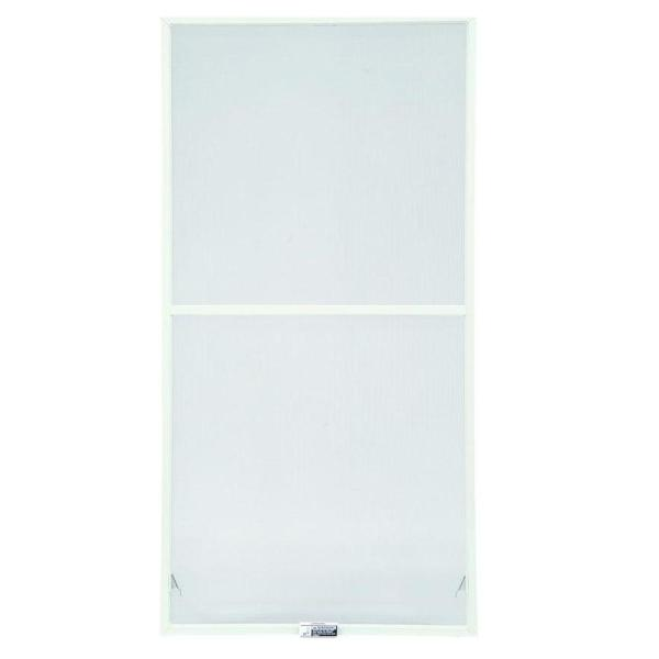 31-7/8 in. x 34-27/32 in., White Aluminum Insect Screen