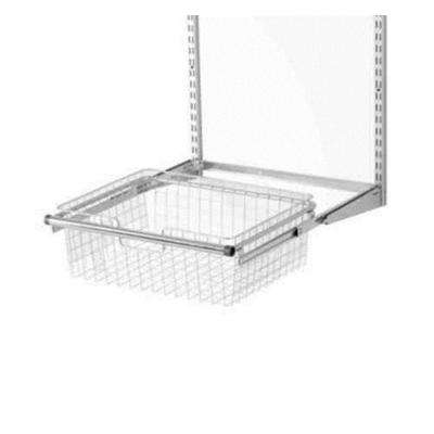 17.5 in. D x 23.5 in. W x 7.25 in. H Configurations Metal Closet System Sliding Basket