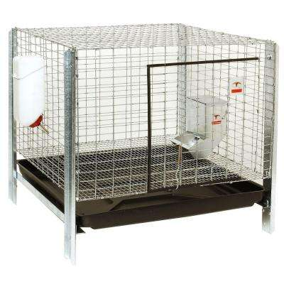 24 in. x 16 in. Complete Rabbit Hutch Kit