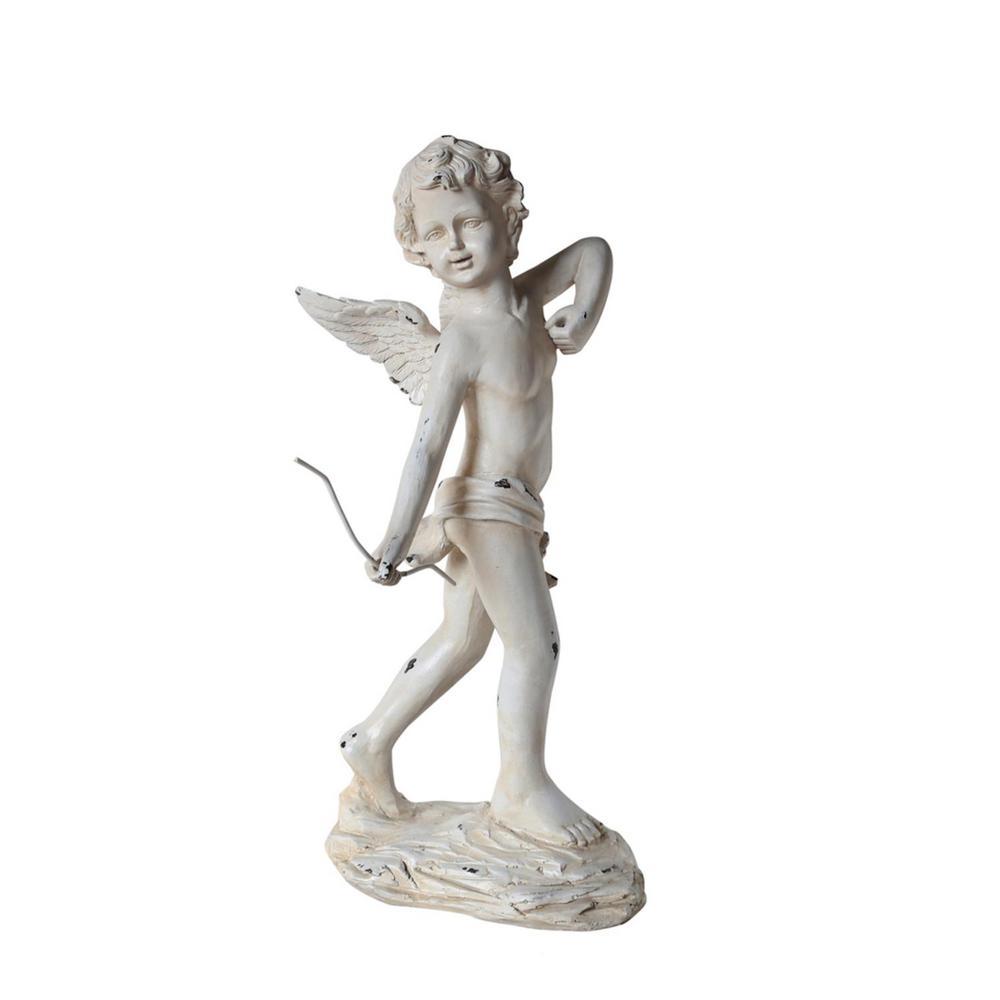 Delicieux Cherub Angel Garden Statue