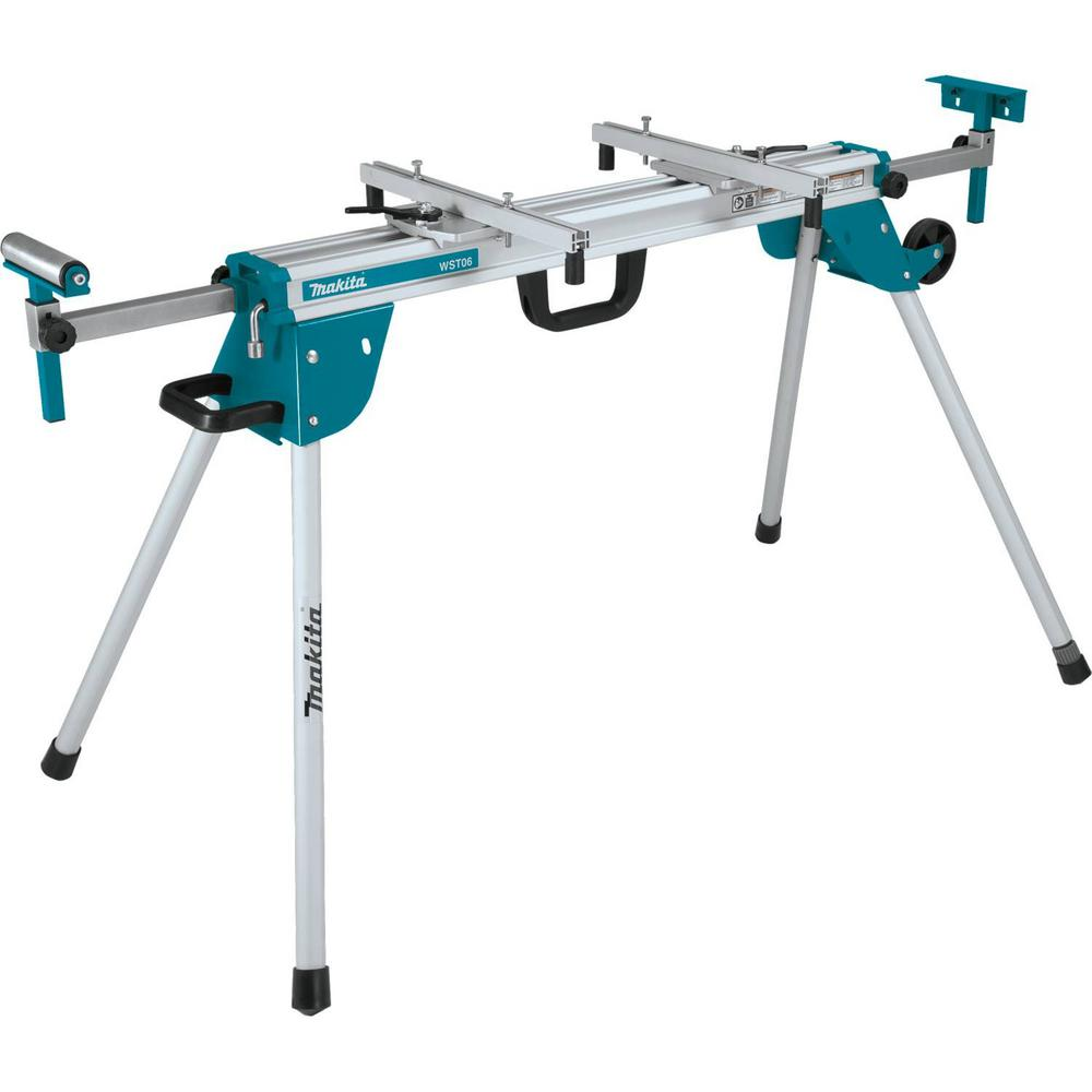 Makita Compact Folding Miter Saw Stand Wst06 The Home Depot