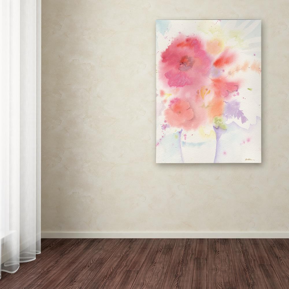 """19 in. x 14 in. """"The White Vase"""" by Sheila Golden"""