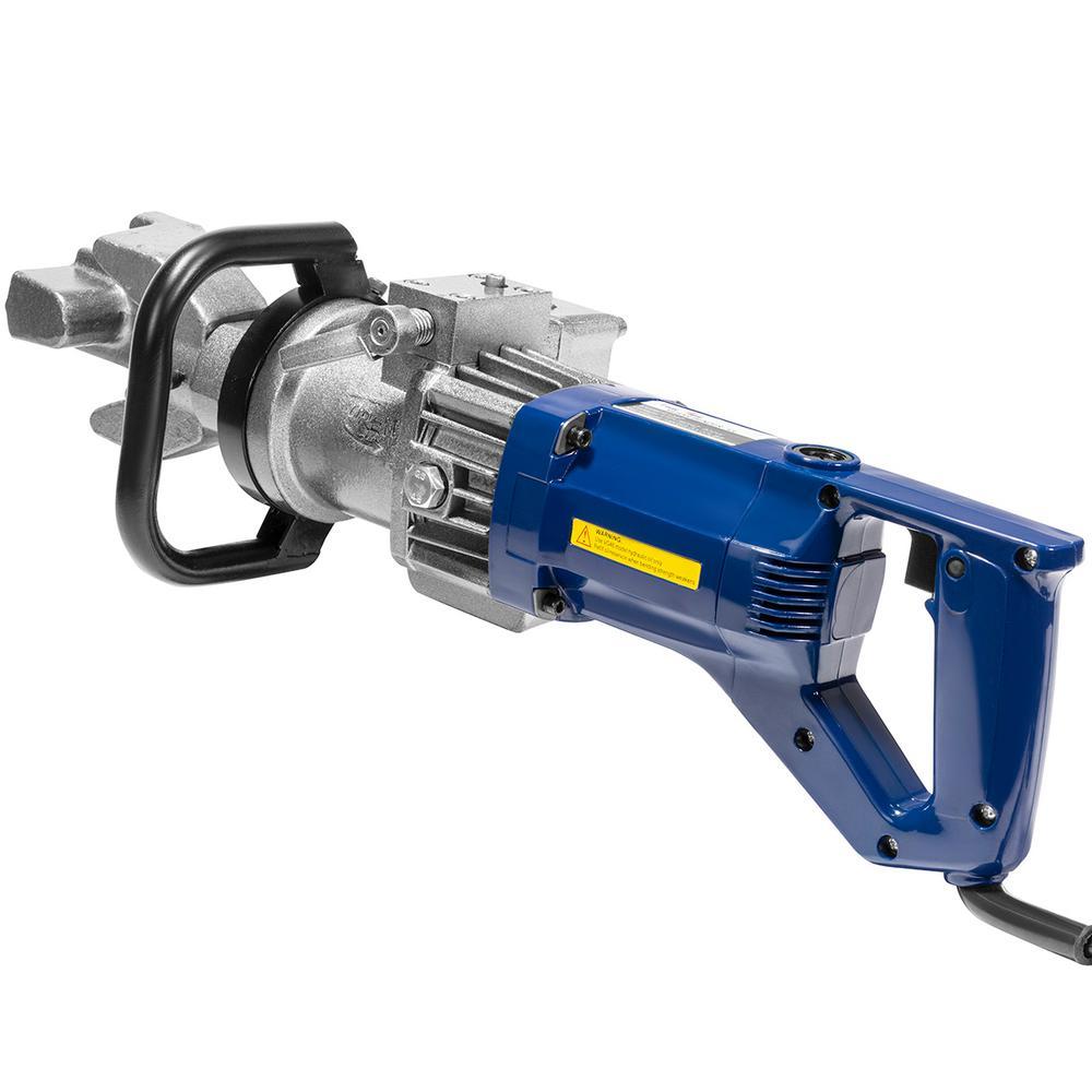 5/8 in. 900-Watt Electric Hydraulic Rebar Bender Tool Kit with Adjustable Angle