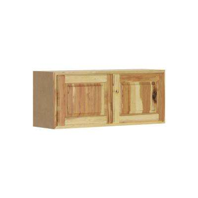 Madison Assembled 36x15x12 in. Wall Bridge Cabinet in Hickory
