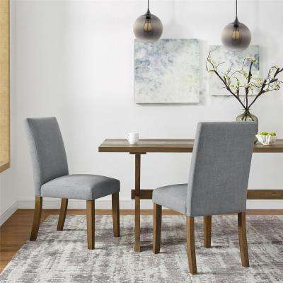 Deedra Gray Parsons Chair (2-Pack)