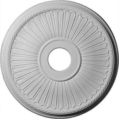 20-1/8 in. x 3-7/8 in. ID x 1-7/8 in. Berkshire Urethane Ceiling Medallion (Fits Canopies upto 6-3/8 in.)