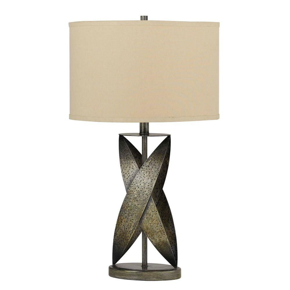 CAL Lighting Tirano Wrought Iron Table Lamp-DISCONTINUED