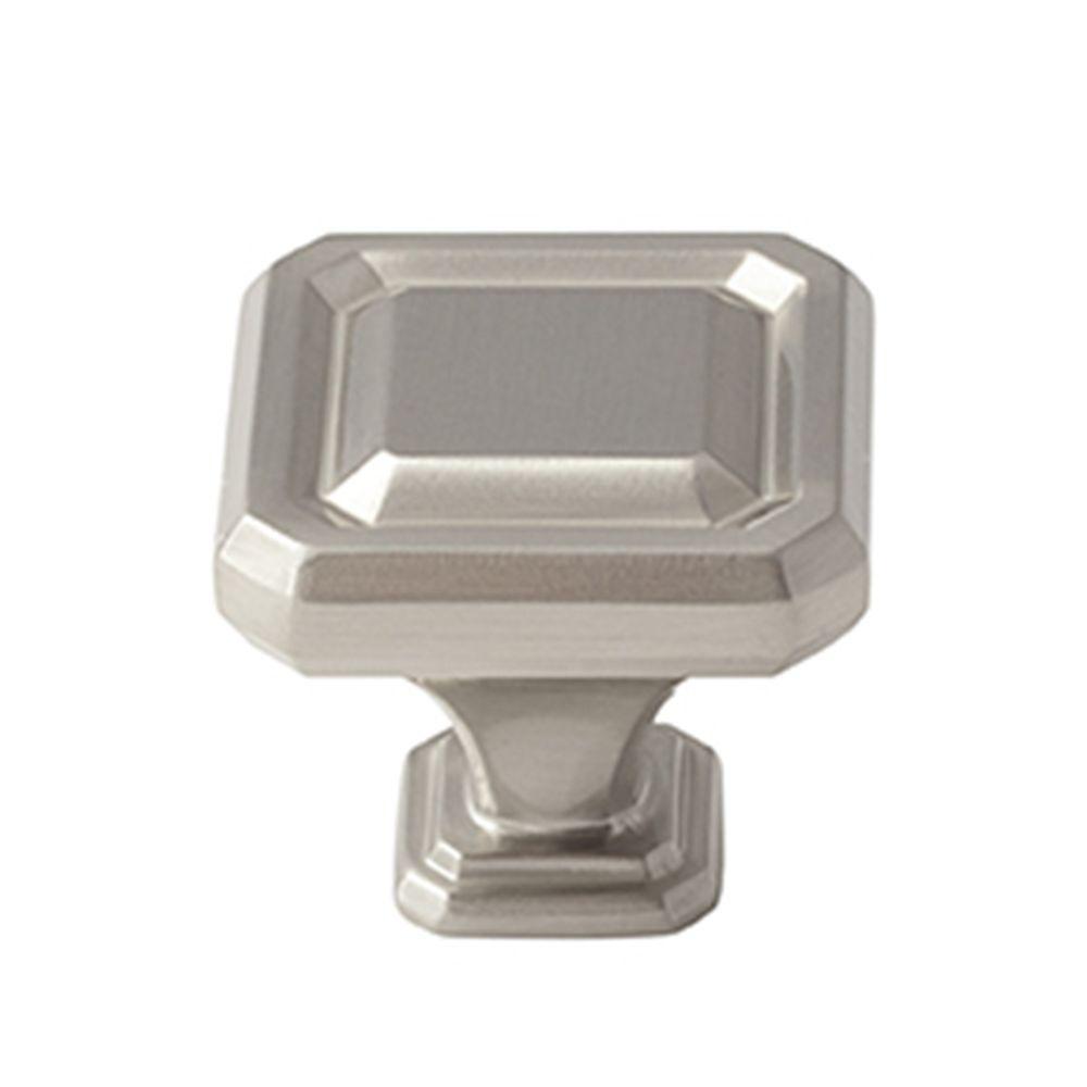 Wells 1-1/2 in. (38 mm) Satin Nickel Cabinet Knob