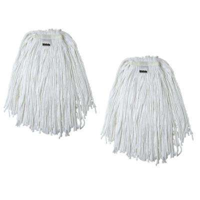 #20, 4-Ply Cotton Mop Head with Cut-Ends (2-Pack)