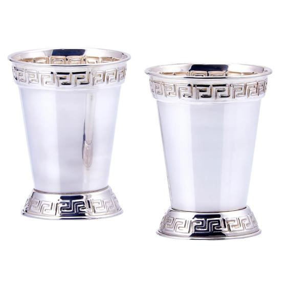 Old Dutch 12 oz. Mint Julep Cup in Silver Plated (Set of 2)