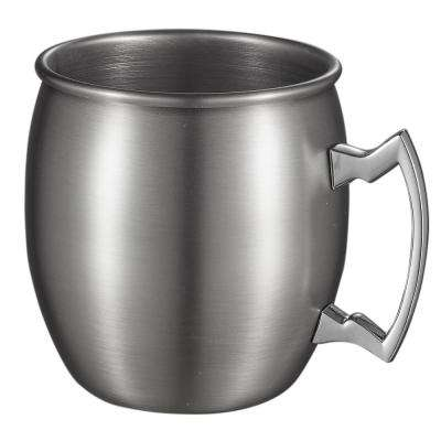 Kremlin Brushed Nickel Moscow Mule Mug