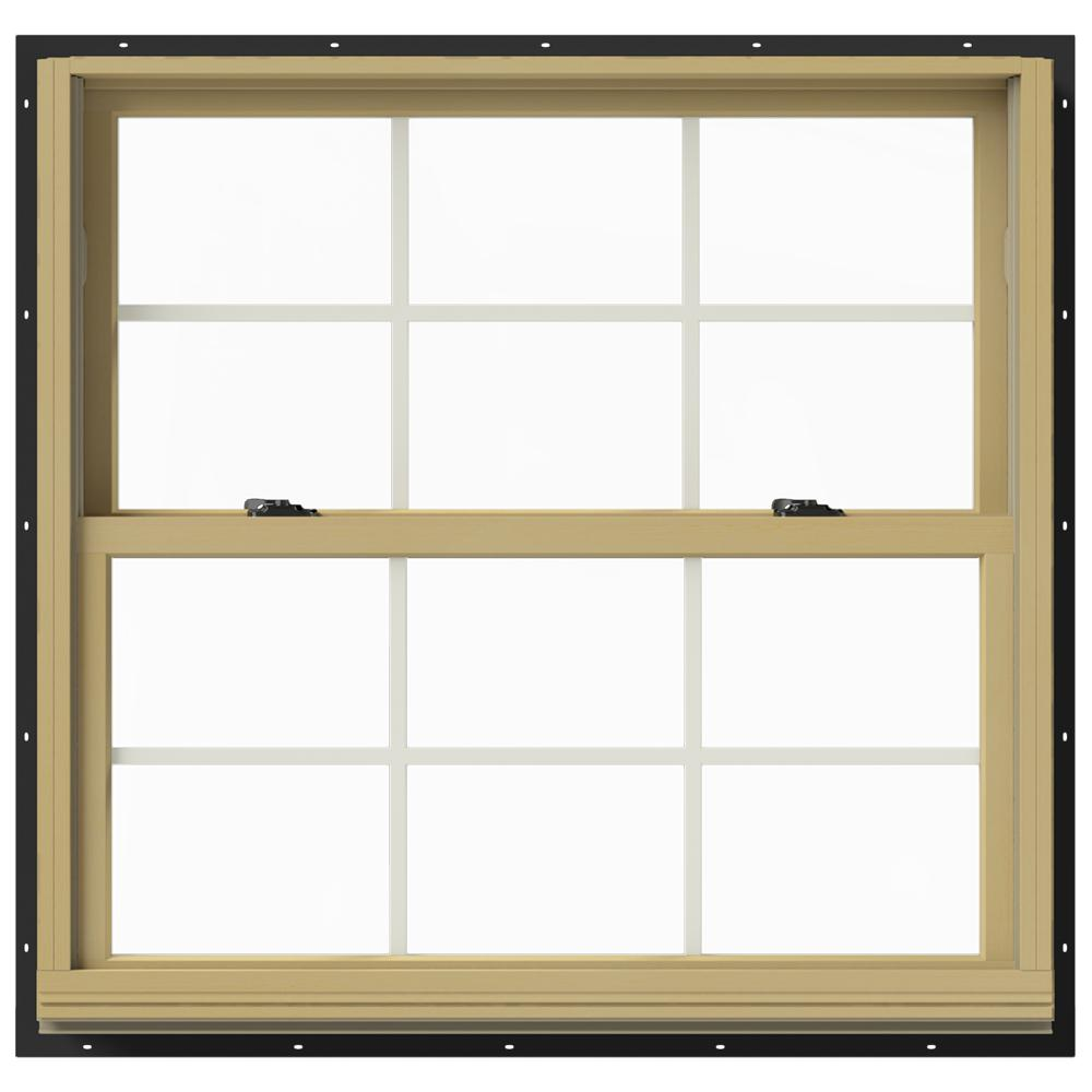 37.375 in. x 36 in. W-2500 Double-Hung Aluminum Clad Wood Window