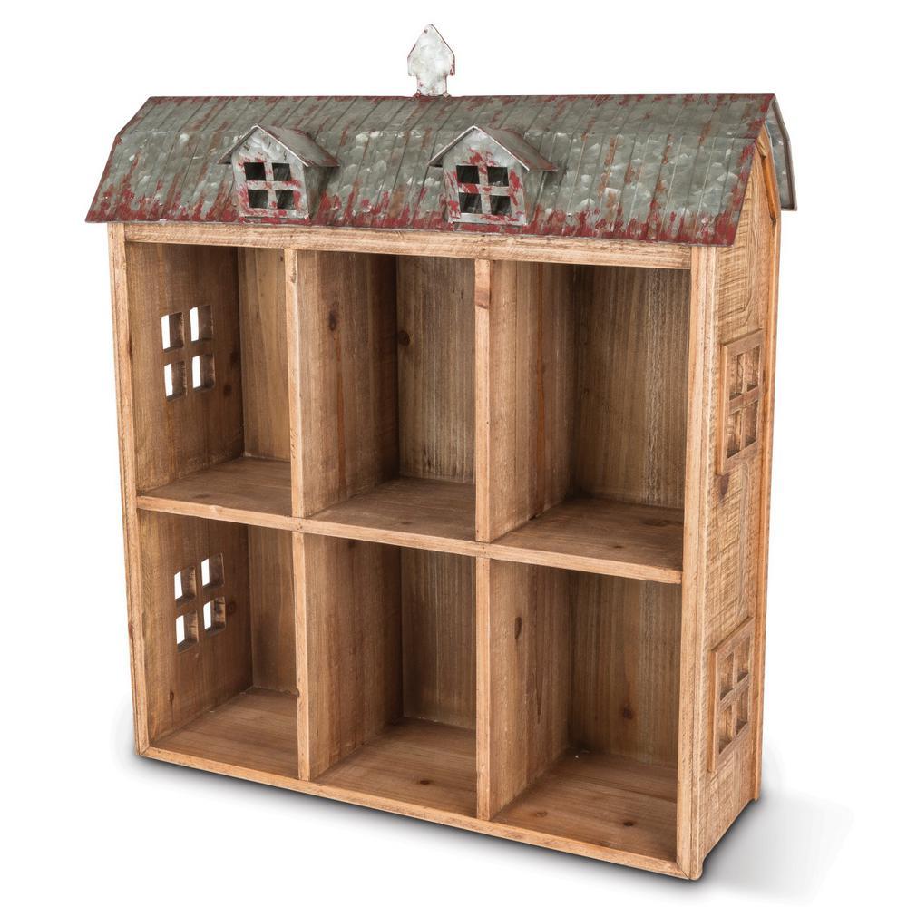 24.5 in. H Wood Barn Shelf