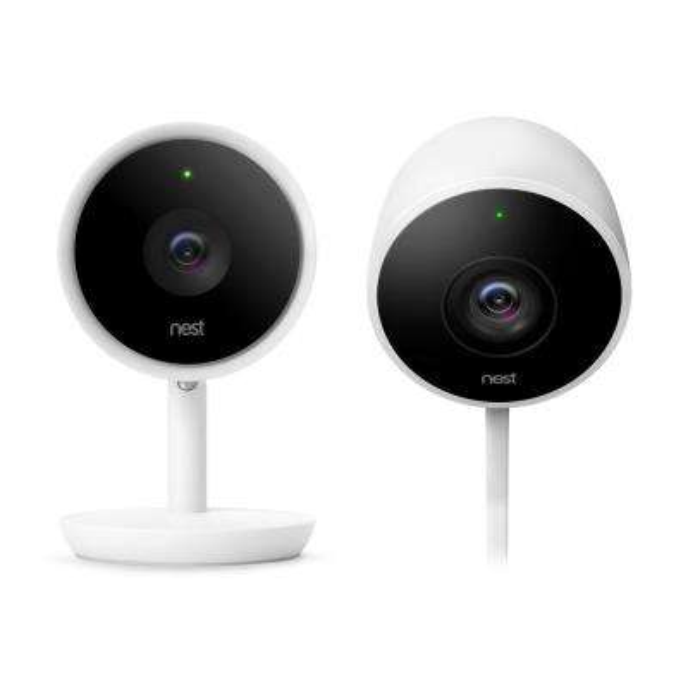 Cam Indoor IQ Security Camera with Cam Outdoor Security Camera