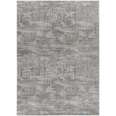 Amadeo Light Gray 7 ft. 10 in. x 10 ft. 2 in. Indoor Area Rug