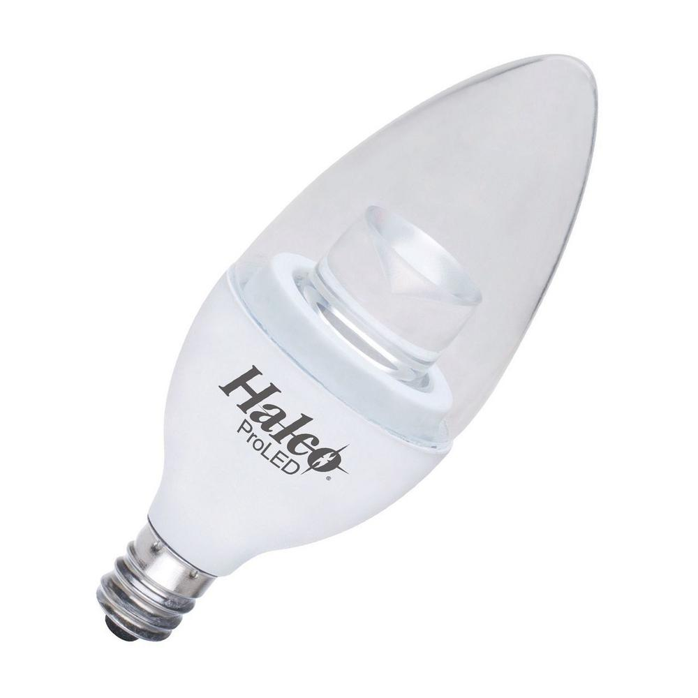 40W Equivalent Soft White B11 LED Dimmable Light Bulb