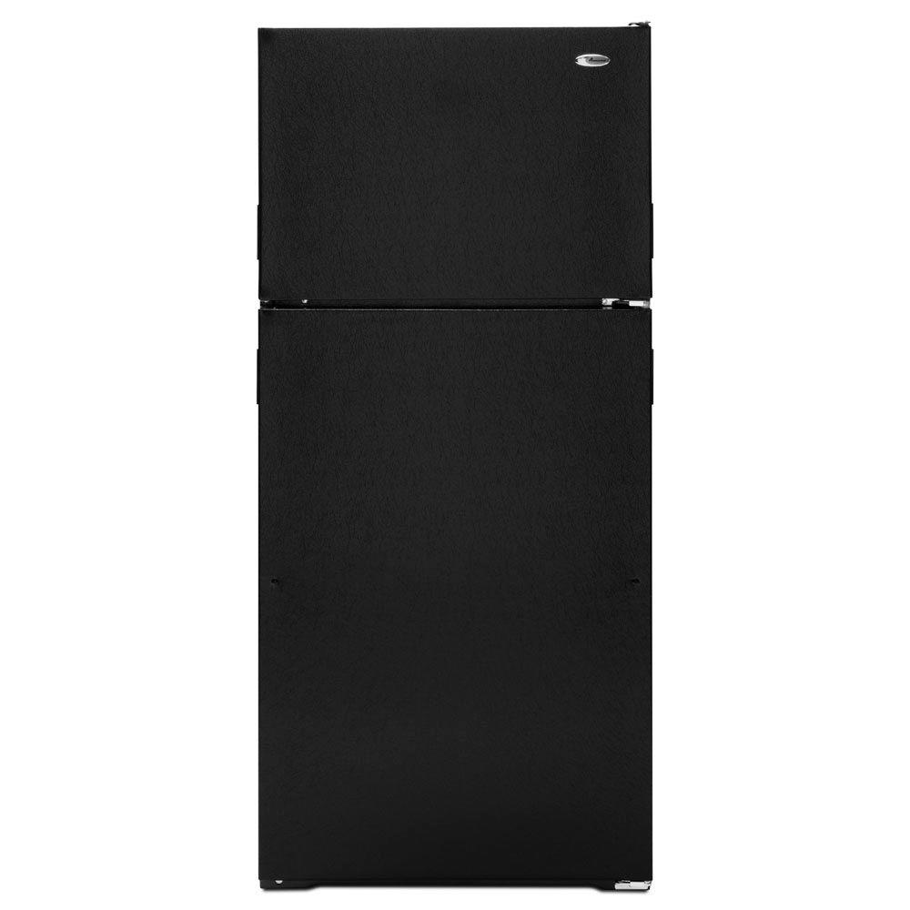 Amana 14.4 cu. ft. Top Freezer Refrigerator in Black