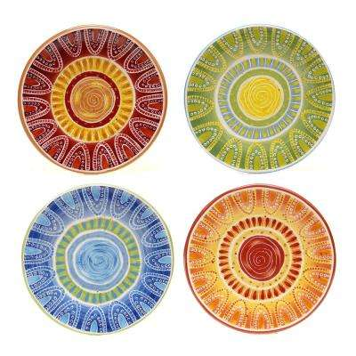 Tapas 8.75 in. Salad and Dessert Plate (Set of 4)