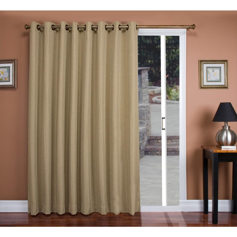 Tacoma 106 in. W x 84 in. L Polyester Double Blackout
