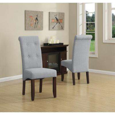 Cosmopolitan Dove Grey Parsons Dining Chair (Set of 2)