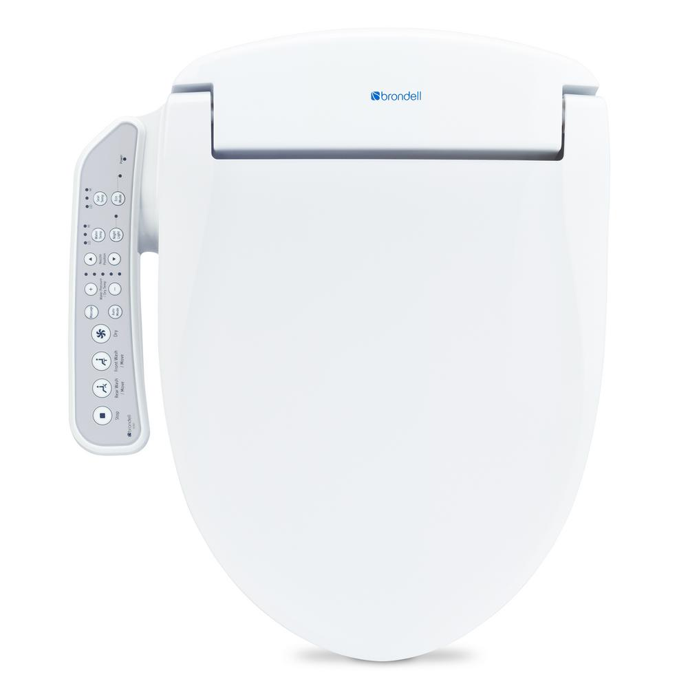 Swash IS707 Advanced Electric Bidet Seat for Elongated Toilet in White