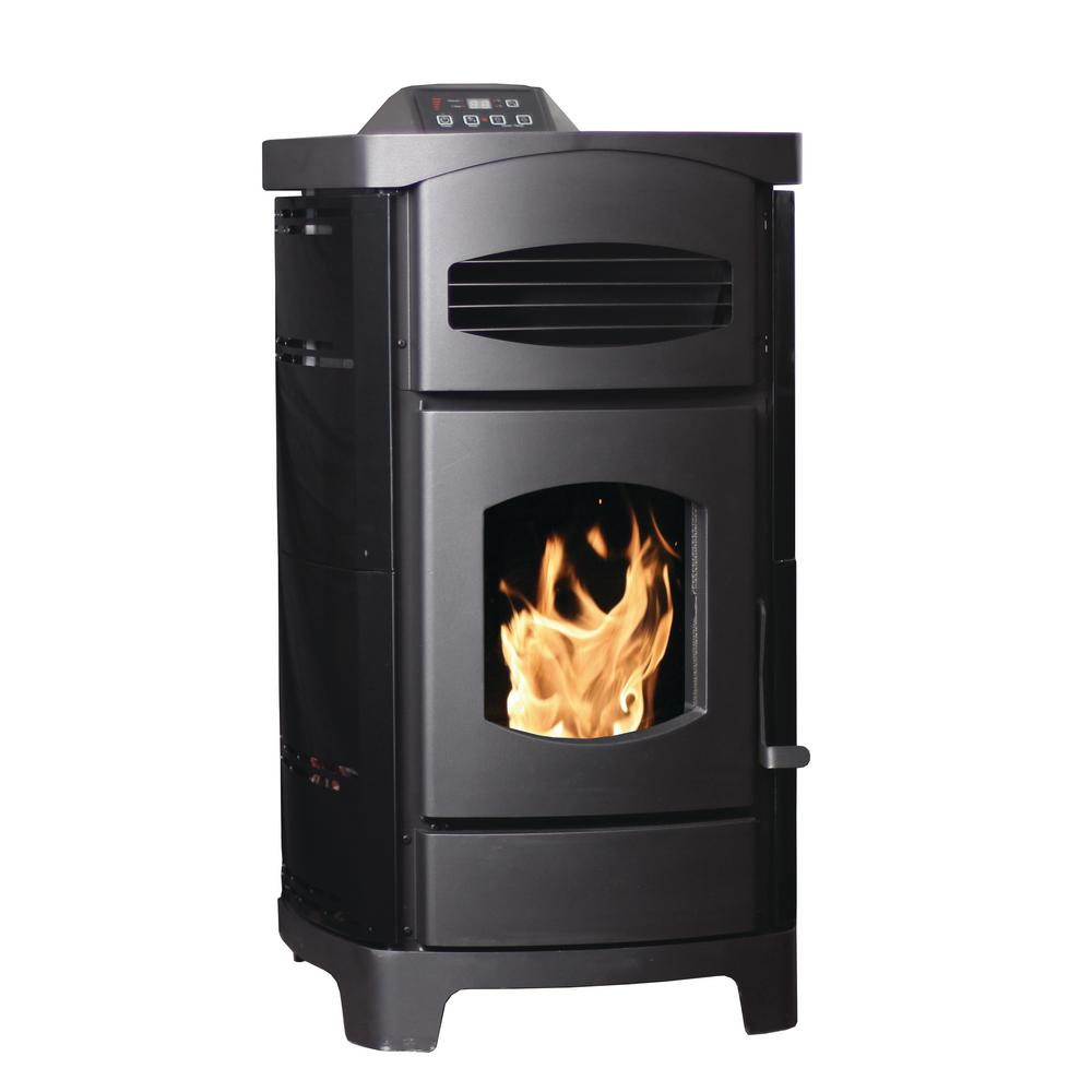 2200 sq. ft. EPA Certified Pellet Stove with 40 lb. Hopper