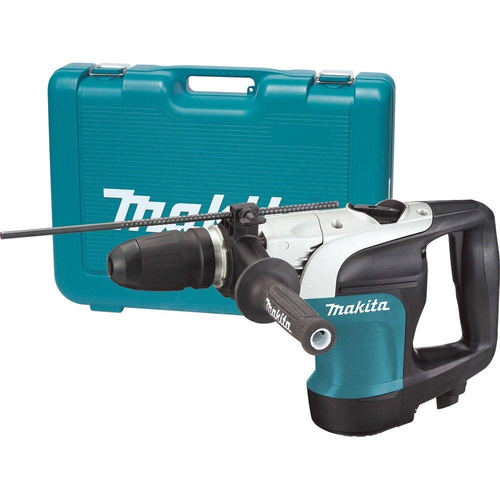 Makita 10 Amp 1-9/16 in. Corded SDS-MAX Concrete/Masonry Rotary Hammer Drill with Side Handle and Hard Case