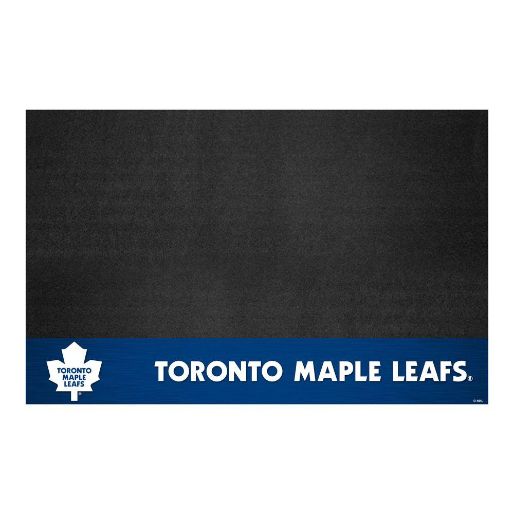 Fanmats Toronto Maple Leafs 26 In X 42 In Grill Mat