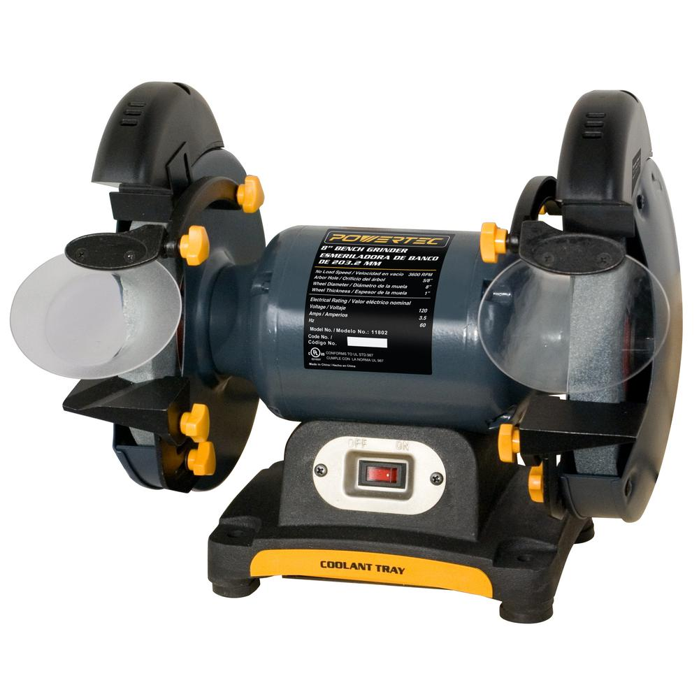 Genesis GBG800L Bench Grinder with Dual Light 8 8