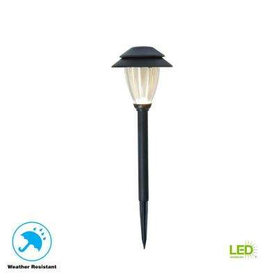 Low Voltage Black Outdoor Integrated Led Landscape Path Light Set With Transformer 6