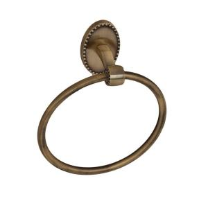 Barclay Products Cordelia Towel Ring in Antique Brass by Barclay Products