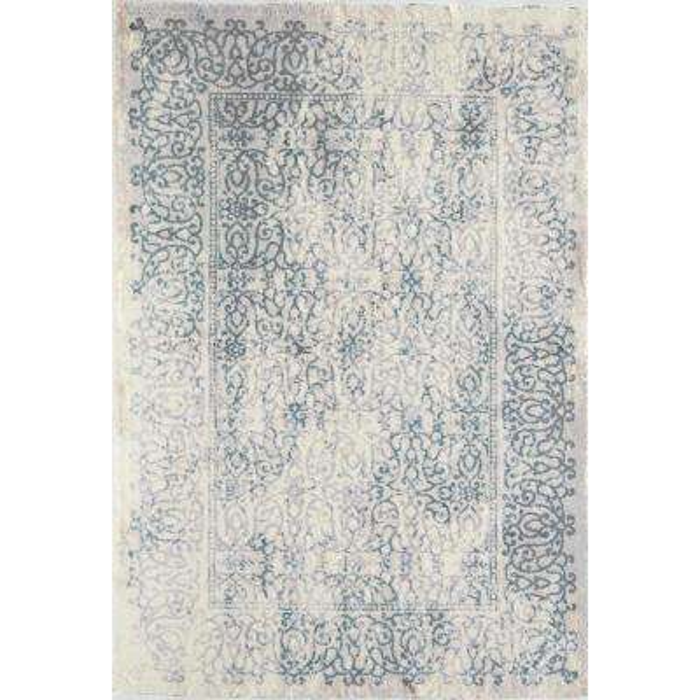 Brisa Lewes Baby Blue Blue 2  ft. 3 in. x 8  ft. 0 in. Rectangular Runner